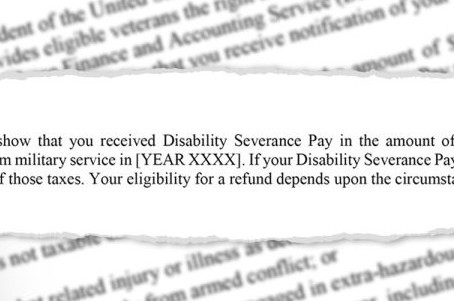 Over 133,000 Injured Veterans Owed Hefty Tax Refund!