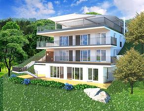 Axas-Omes - Terrassenwohnungen