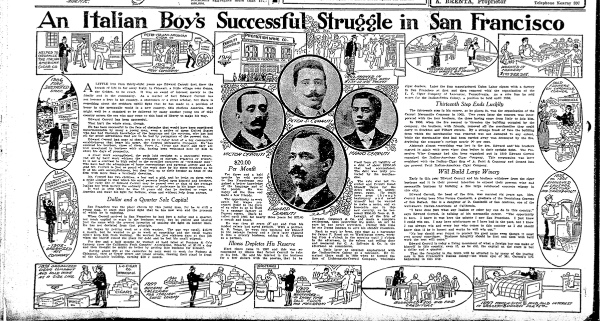 SF Chronicle Article 1914
