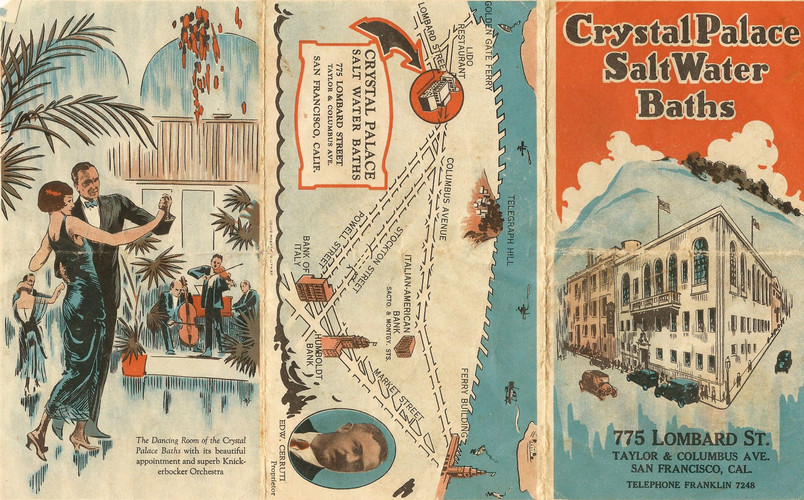 Crystal Palace Baths Brochure