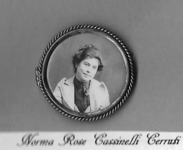 Nonni, My Great Grandmother
