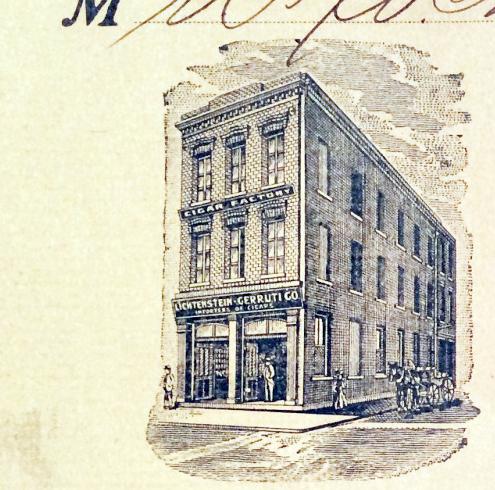Cerruti Mercantile building in San Francisco