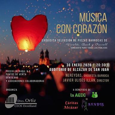 """ORQUESTA NEREYDAS """"MÚSICA CON CORAZÓN"""" EN ALCÁZAR DE SAN JUAN (CR)"""