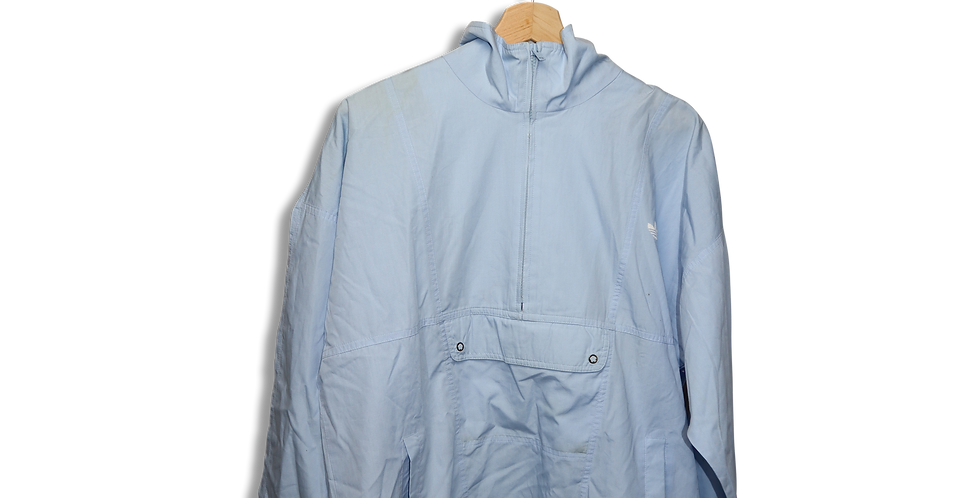 ADIDAS QUARTER ZIP WINDBREAKER | L