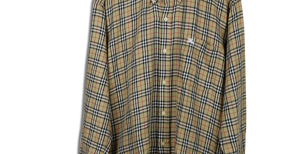 EARLY 1990s BURBERRY NOVA CHECK SHIRT | M