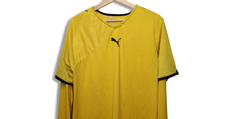 PUMA DOUBLE LAYERED T SHIRT | L
