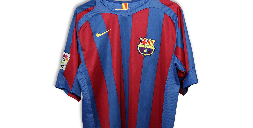 2005-2006 FC BARCELONA HOME SHIRT | L