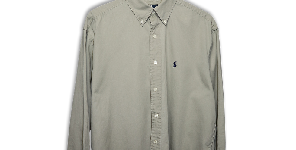 RALPH LAUREN BUTTON DOWN OXFORD SHIRT | M