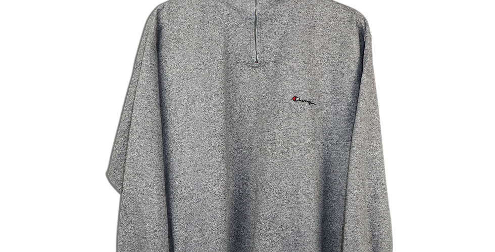 EARLY 2000s CHAMPION QUARTER ZIP | L