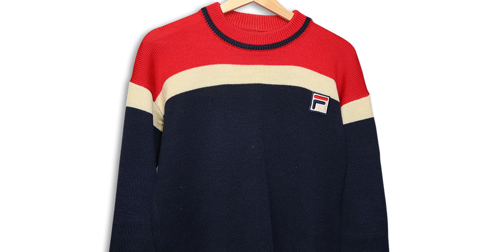 FILA KNITTED CREWNECK | S