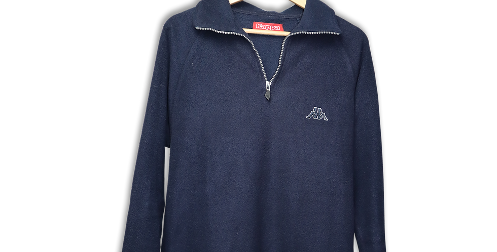 KAPPA QUARTER ZIP FLEECE | XL