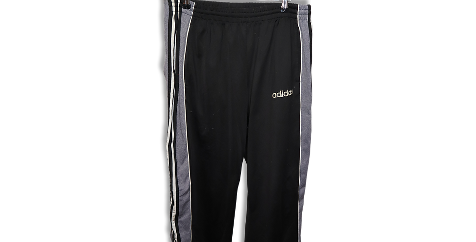 ADIDAS POPPER TRACKSUIT BOTTOMS | XL