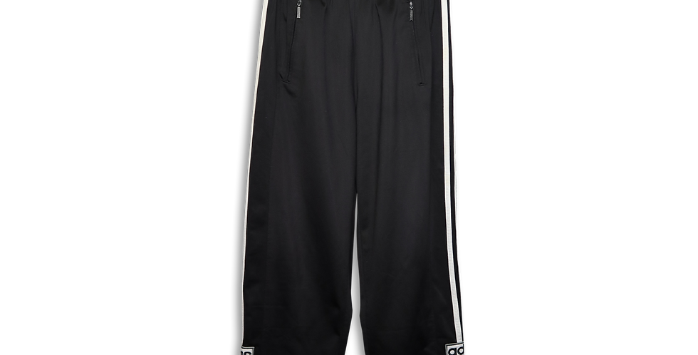 ADIDAS POPPER TRACKSUIT BOTTOMS | S