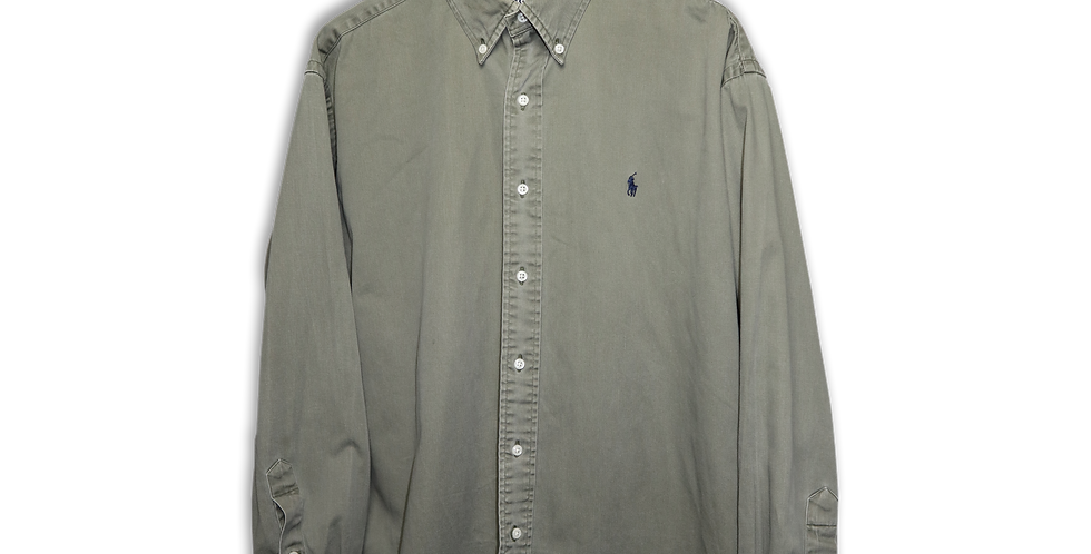 RALPH LAUREN BUTTON DOWN OXFORD SHIRT | L