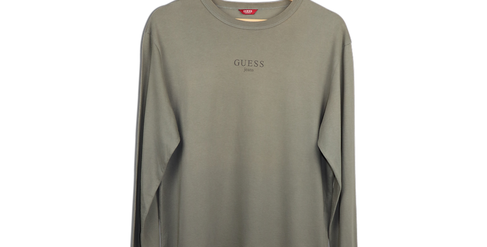 EARLY 2000s GUESS JEANS LONGSLEEVE T SHIRT   M