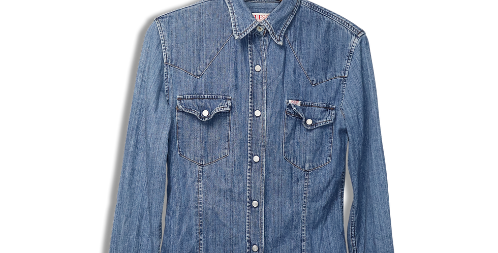 GUESS JEANS DENIM SHIRT | S