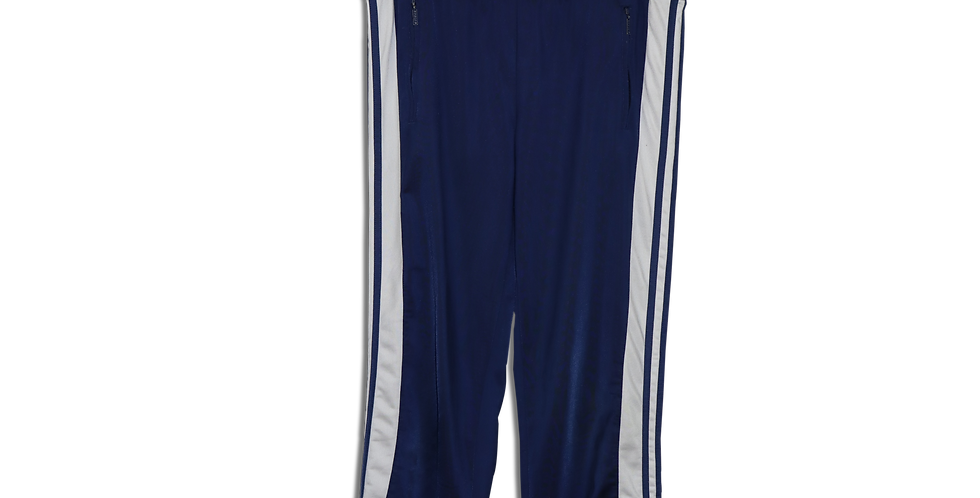 EARLY 1990s ADIDAS POPPER TRACKSUIT BOTTOMS | W32