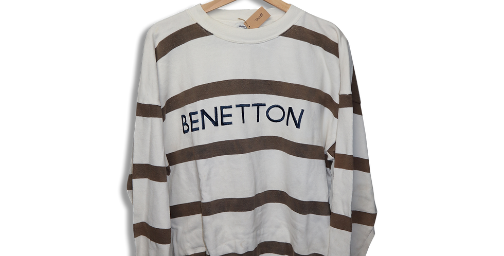 BENETTON CREWNECK JUMPER | M