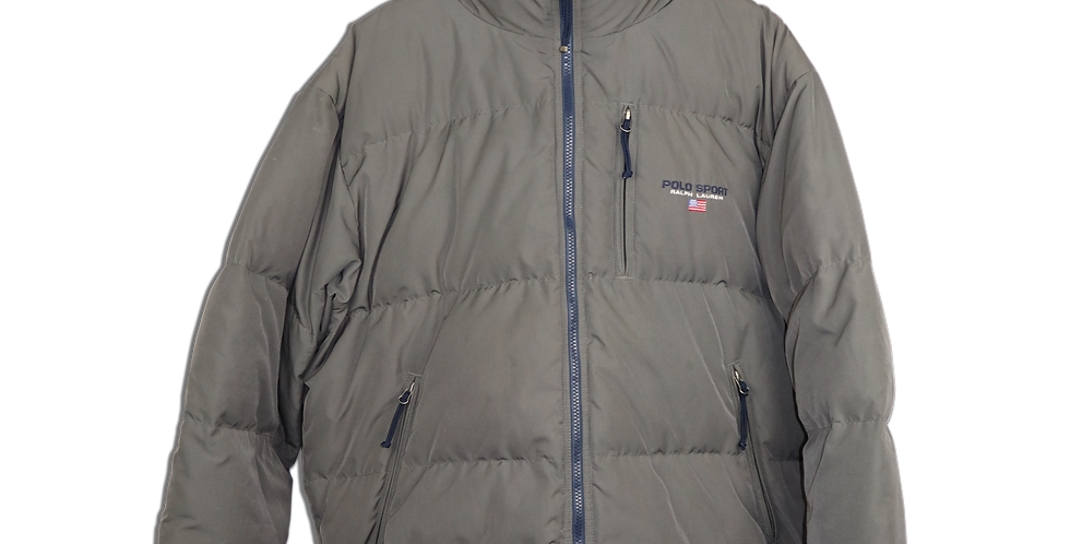 EARLY 1990s POLO SPORT PUFFER JACKET | XL