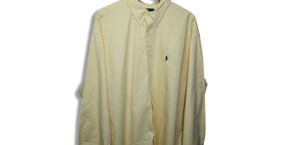 RALPH LAUREN BUTTON DOWN OXFORD SHIRT | XXL
