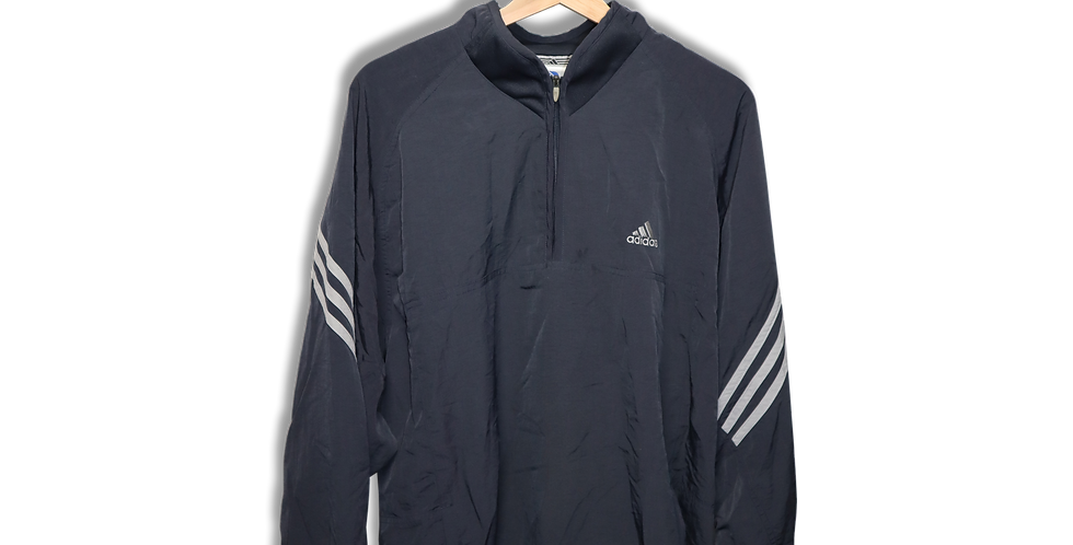 ADIDAS WINDBREAKER QUARTER ZIP | L