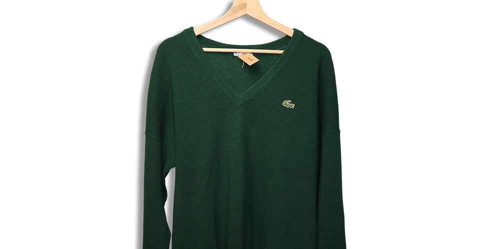 LACOSTE KNITTED JUMPER | XL