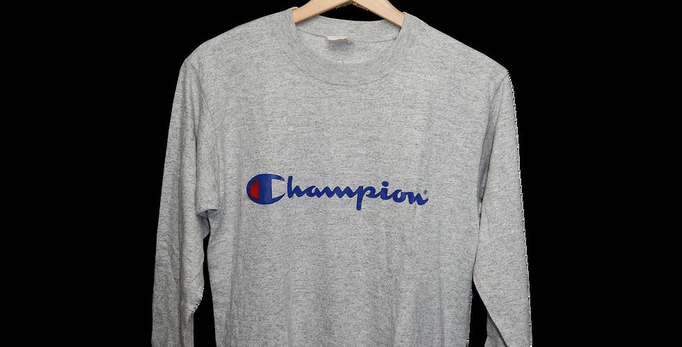 CHAMPION LONGSLEEVE T SHIRT | L