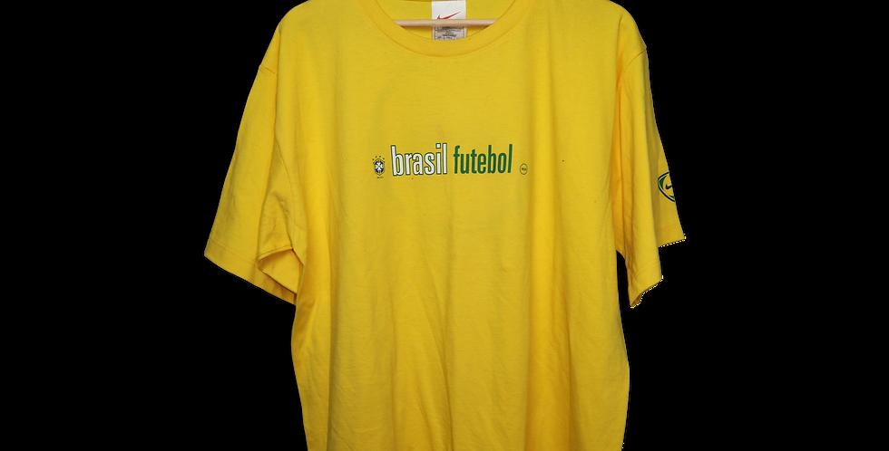 BRASIL FUTBOL T SHIRT | L