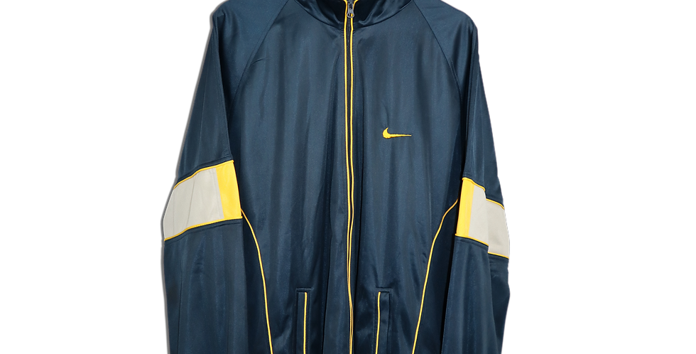 EARLY 1990s NIKE TRACKSUIT TOP | XL