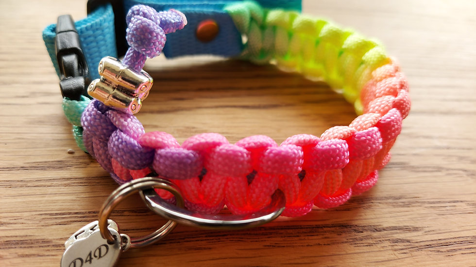 Woven Paracord Dog Collars- Made to order