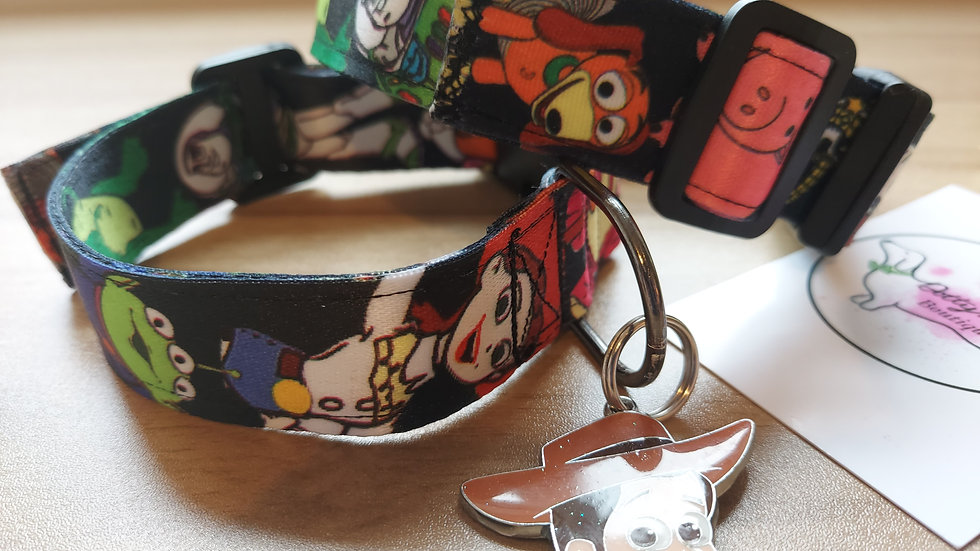 Soft toy story collar