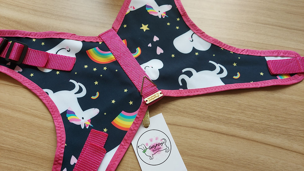 Unicorn & Rainbow waterproof Harness