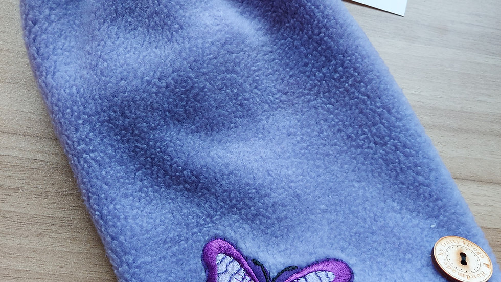 Cute lilac polar fleece