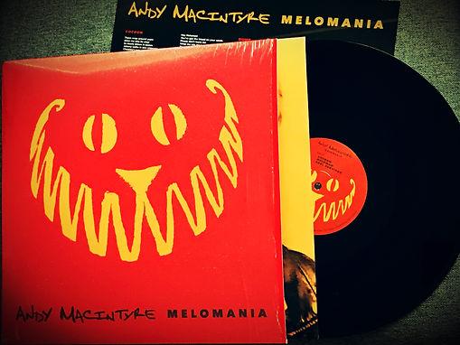 ANDY MACINTYRE MELOMANIA VINYL RECORD