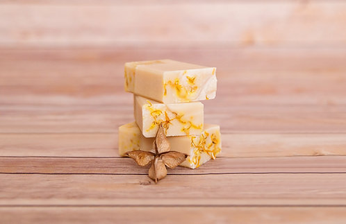 Calendula and Goats Milk Soap