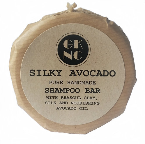Natural Handmade Silky Avocado Shampoo Bar