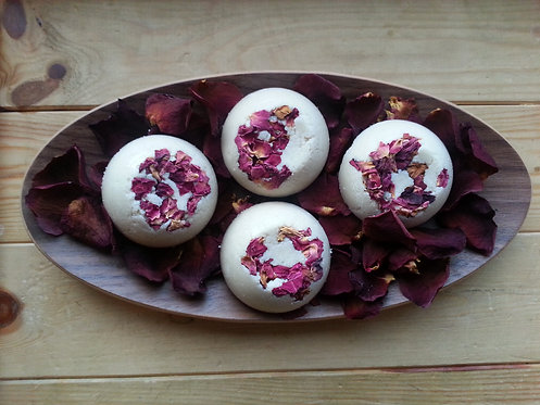 Rose Love Bath Truffle Set