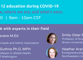 The future of K- 12 education during Covid-19