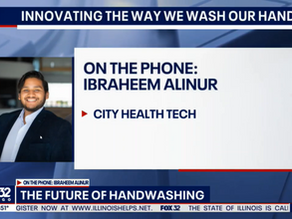 Innovating the way we wash our hands