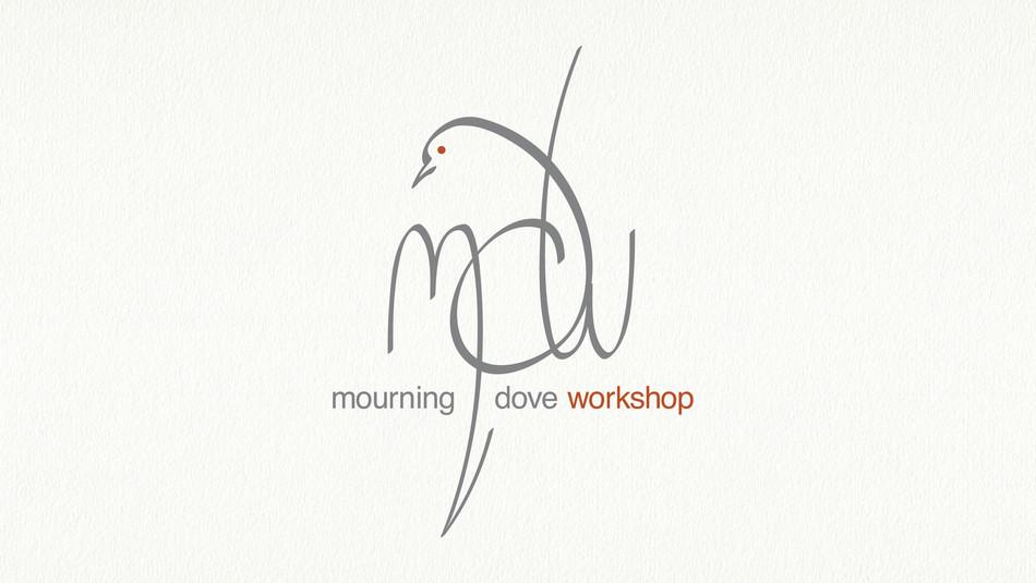 Mourning Dove Workshop Logo Design