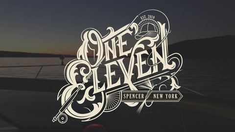 One Eleven Boat Name Logo