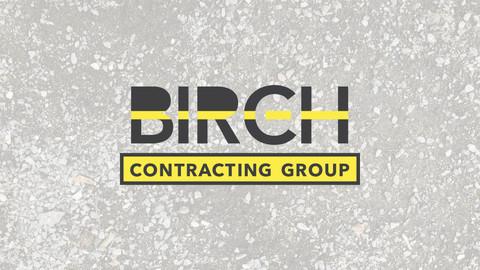 Pavement Contractor Logo