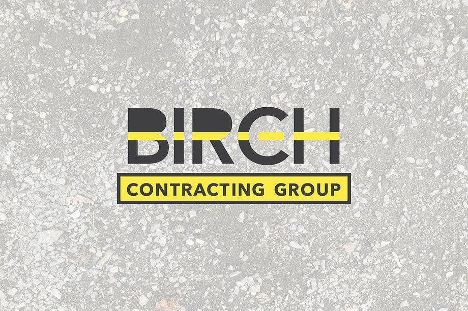 Pavement contractor logo design