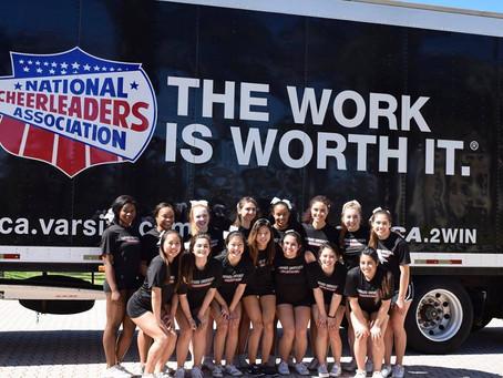 Harvard Cheerleading Advances to Finals at NCA College Nationals