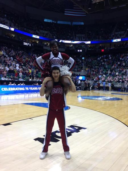 Harvard Cheerleading heads to Salt Lake City to cheer on the Harvard Men's Basketball Team