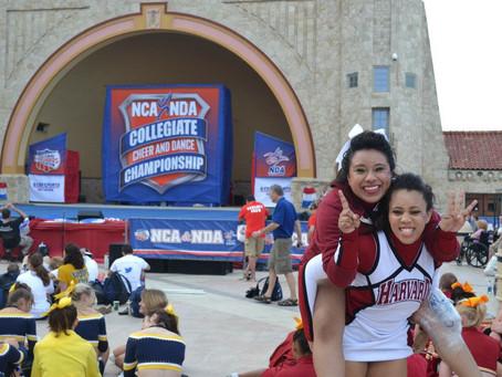 Harvard Cheerleading seniors honored at the Senior Letter Winners' Reception