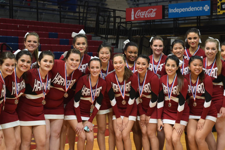 Harvard Cheer Places 2nd in Ivy League Cheer Competition