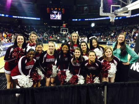 Harvard Cheerleading heads to Spokane, WA for March Madness