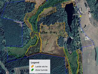 Protection et préservation des habitats sur le terrain de Combe Prunde