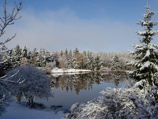Und schon gibt's erste Winterbilder!